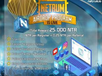 Netrum Crypto Airdrop Tutorial - Earn 1 NTR Coin - Worth The $30