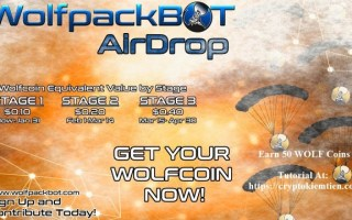 WolfPackBot Airdrop Tutorial – Earn 50 WOLF Coins Free