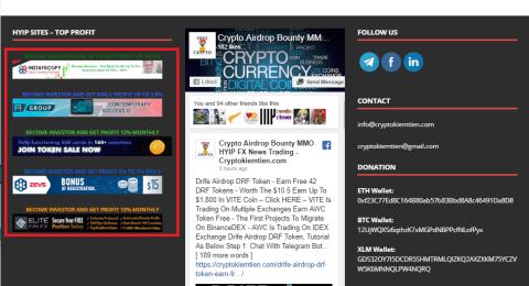 Advertise On Cryptokiemtien.com