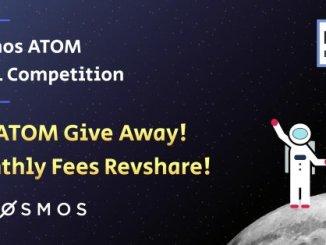 100 ATOM Giveaway - Worth The $500 - Rewards Of Pos Bakerz