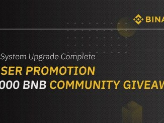 Binance System Upgrade Complete - VIP User Promotion & 50,000 BNB Community Giveaway