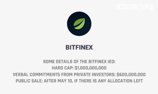 Details Of The Bitfinex IEO - Issuing The Exchange Tokens