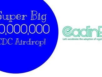 CadinEx Exchange Airdrop CDN Token - Earn Free 2,500 CDN Tokens - Worth The $500