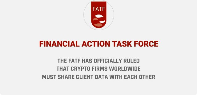 The FATF Has Officially Ruled That Crypto Firms Worldwide Must Share Client Data With Each Other