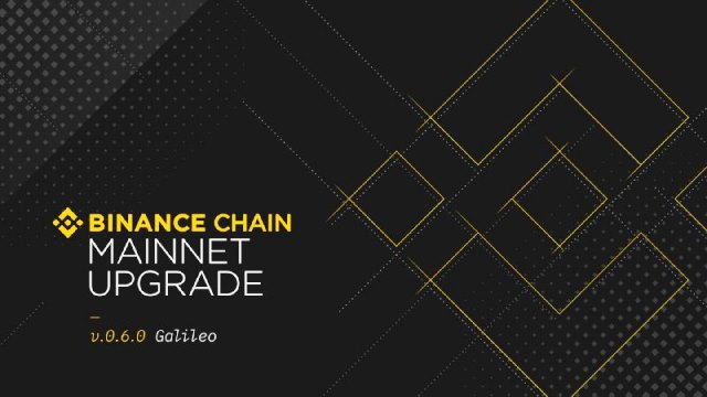 "Binance Chain Has Succesfully Installed The ""Galileo"" Upgrade"
