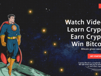 Captainbitcoin Giveaway $2,500 Of Bitcoin (BTC)