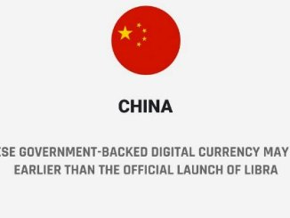 The Chinese Government Backed Digital Currency May Come Out Earlier Than The Official Launch Of Libra