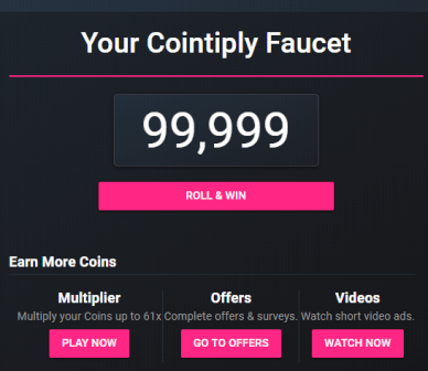 Earn Bitcoin With Cointiply.com - Earn Bitcoin (BTC) Free By View Ads, Surveys And Play Games