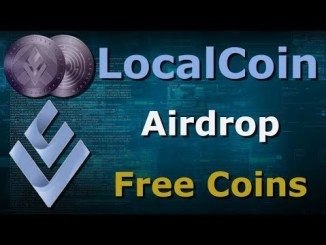 LocalCoin 2nd Airdrop - Earn 70 LLC Coins Free ~ $35