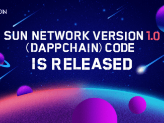 Sun Network - Tron Announced The V1.0 Code Release Of TRON's Side Chain Solution