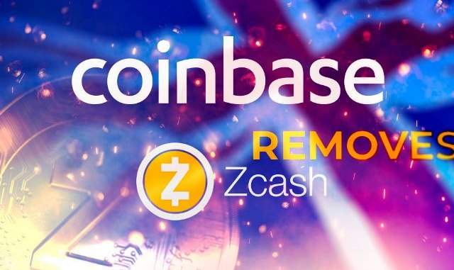 Coinbase Removing Zcash Support For UK Customers
