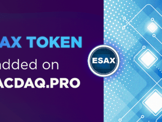 ESAX Airdrop - Get 2,400 ESAX Tokens Free - Worth The $60