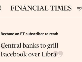 Representatives Of Libra will Meet Officials From 26 Central Banks - Including US Fed