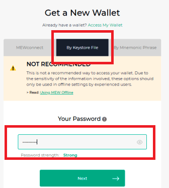How To Create And Use MyEtherWallet (MEW) Wallet?