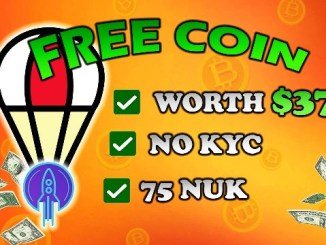 NUKlear Airdrop NUK Token - Receive 75 NUK Tokens Free - Worth The $37