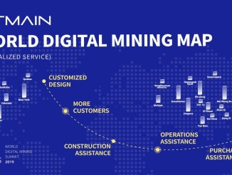Bitmain Will Launch The World Digital Mining Map On This October