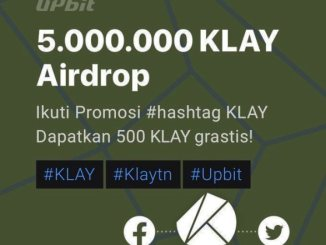 KLAY Airdrop For Upbit Users - Receive 100 KLAY ($20) Free