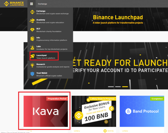 KAVA Token Sale Details On Binance Launchpad - How To Join And Buy KAVA Token?