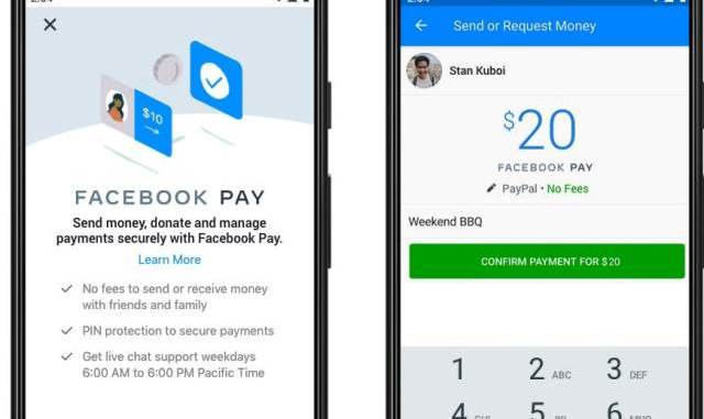 Facebook Pay Will Launch On This Week - Available Across Facebook, Messenger, Instagram And WhatsApp