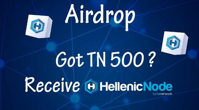 Hellenic Node Airdrop TN Token - Receive 500 TN Tokens And 0.00005 Bitcoin Free