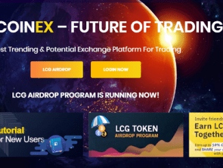 Light Coinex Airdrop LCG - Earn $10 Of LCG Free