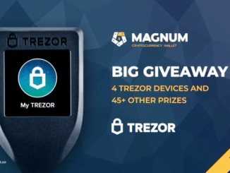 Magnum Wallet Giveaway - Receive Trezor Wallet Device And Bitcoin Free