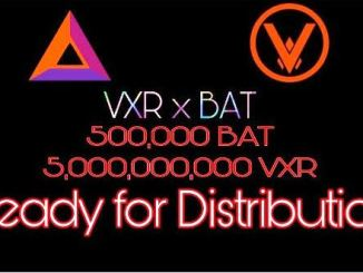 Vexareum Gives BAT And VXR Token - Receive 20 BAT And 50,000 VXR Tokens Free
