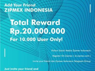 Zipmex Airdrop IDR (Indonesia Currency) - Earn IDR Free