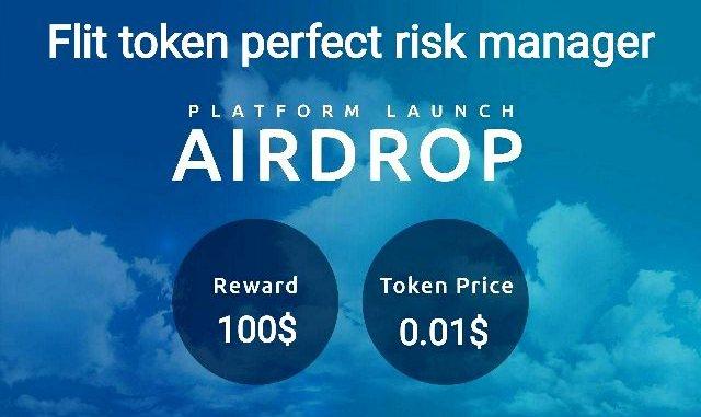 Flit Airdrop Token - Earn $100 In FLIT Tokens Free