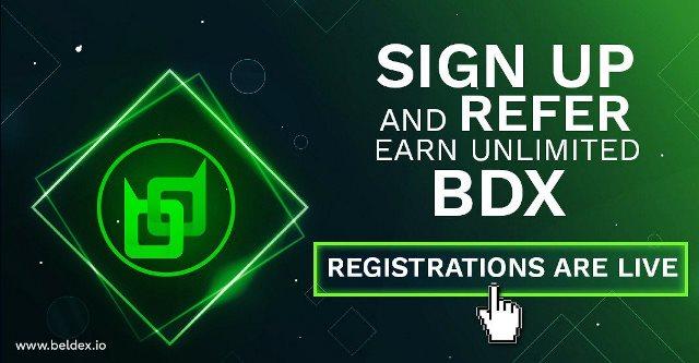 Beldex Exchange Airdrop - Receive 100 BDX Tokens Free