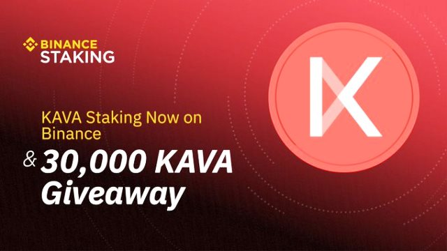 Binance Launches KAVA Staking Program And Airdrop 30,000 KAVA - Hold KAVA To Earn Rewards