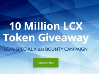 LCX Bounty Campaign - Receive 500 - 500,000 LCX Tokens