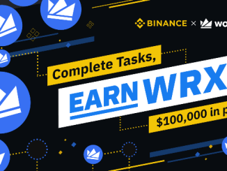 Binance Launches WazirX Bounty Program - $100,000 WRX Token Rewards