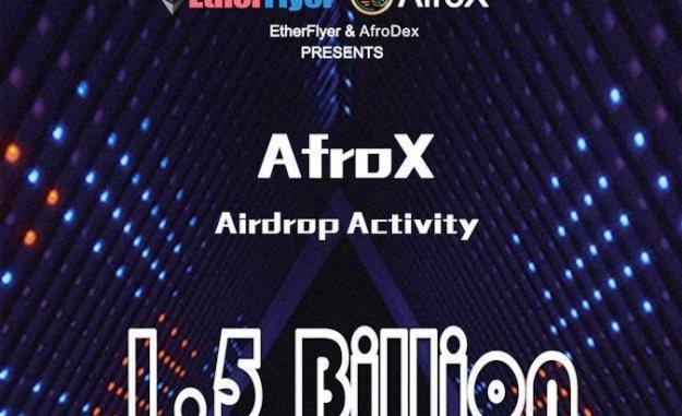 AfroX Airdrop On Etherflyer Exchange - Receive AfroX Token Free