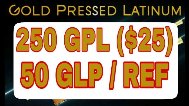 Gold Pressed Latinum Airdrop GPL Coin - Earn $25 Of GPL Coisn Free