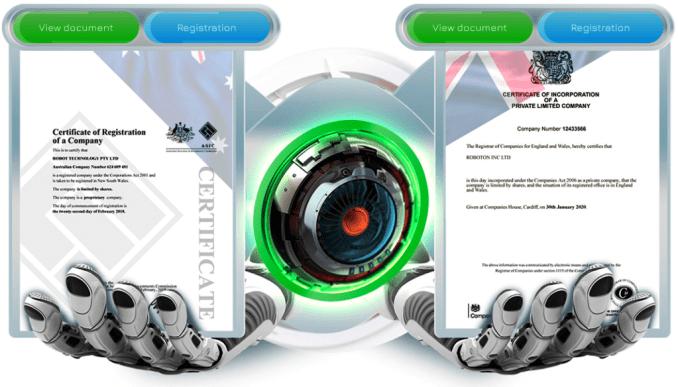 Roboton documents