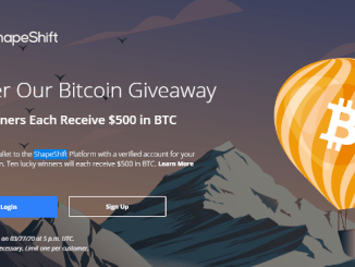 ShapeShift Airdrop Bitcoin And FOX Token - Receive 100 FOX Tokens Free And Chance To Win $500 Of Bitcoin