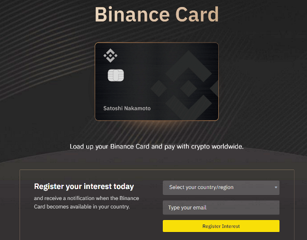Binance Is Releasing The Binance Card Beta Version - Shop And Pay With Your Cryptocurrency
