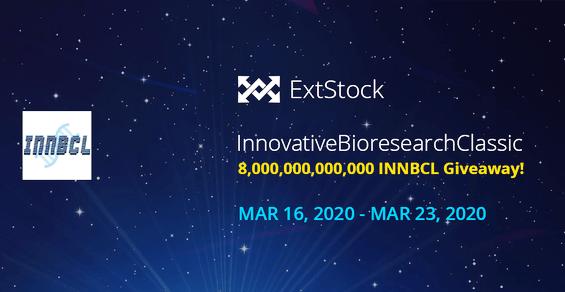 Extstock Exchange Airdrop INNBCL Token - Receive 2,000,000,000 INNBCL Tokens Free