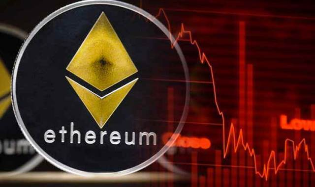 Ethereum Is Down More Than 8% And It Broke The $128 Support