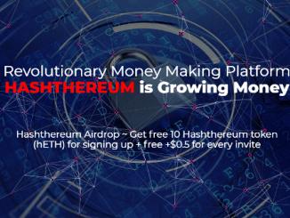 Hashthereum Airdrop HETH Token - Earn $10 Of HETH Tokens Free