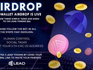 Lead Wallet Airdrop LEAD Token - Earn $4 Of LEAD Tokens Free