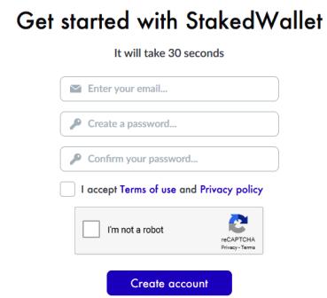 StakedWallet