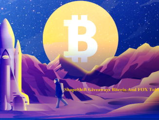 ShapeShift Giveaways Bitcoin And FOX Token - Receive Bitcoin And 100 FOX Tokens Free