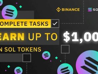 Binance And Solana Airdrop SOL Token - Earn Up To $1,000 Of SOL Tokens Free