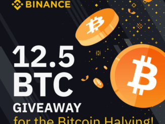 Binance Bounty Program For The Bitcoin Halving - Earn Bitcoin Free