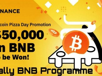 Bitcoin Pizza Day Promotion On Binance - Win Up To $50,000 In BNB Coins
