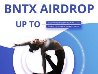 Bintex Futures Airdrop - Earn $12.5 Of BNTX Tokens Free