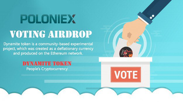 DYNMT Voting Airdrop On Poloniex Exchange
