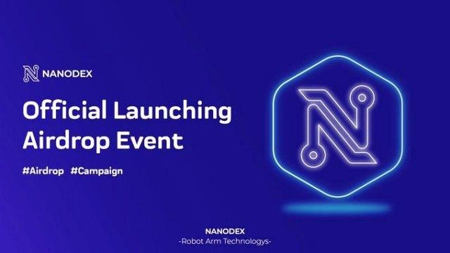 Nanodex Airdrop NNX Token - Receive 15 NNX Tokens Free